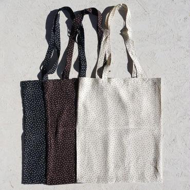 PHEENY Rayon dot tote bag