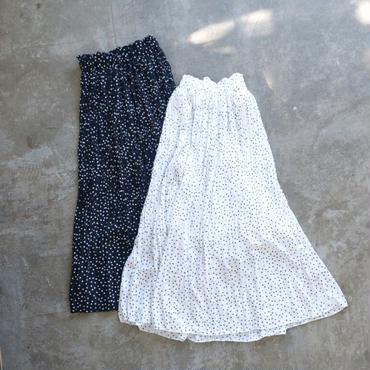 APPRECIATIVE dot maxi skirt