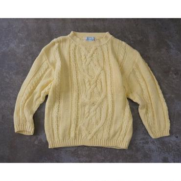 Used  cotton cable knit
