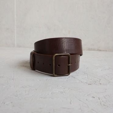 Vintage military leather belt B