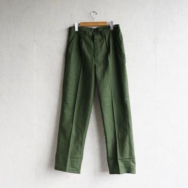 Vintage Sweden military utility pants