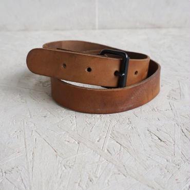 Vintage military leather belt A