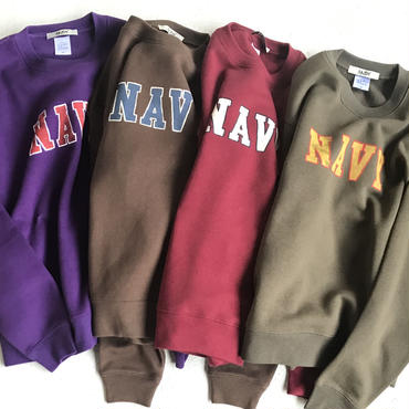 "ANDY ""NAYY"" crew neck sweat"