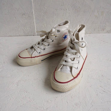 《Kids》Vintage  80's converse all star hi 19,5cm
