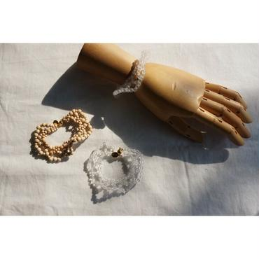 jour couture knit bracelet