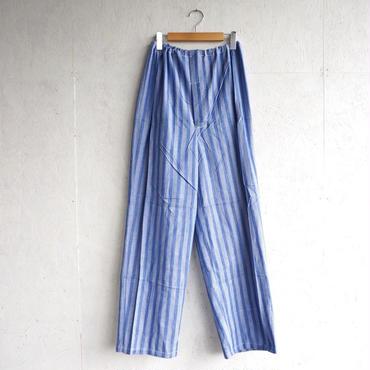 Deadstock pajamas pants BLUE