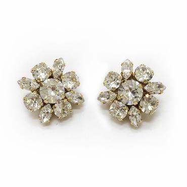 jour couture Swarovski Flower Earring