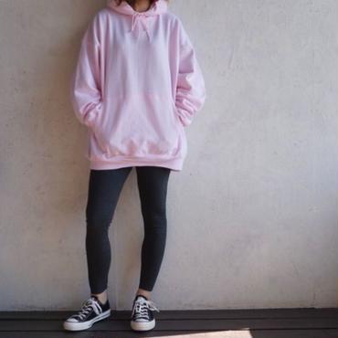 USED Big parka pink