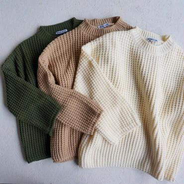 APPRECIATIVE waffle knit