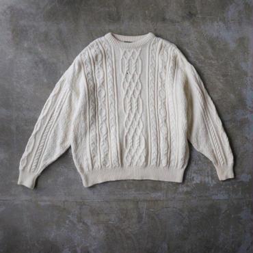 Used  fisherman knit