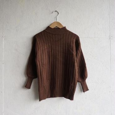 APPRECIATIVE Rib 3/4sleeve knit