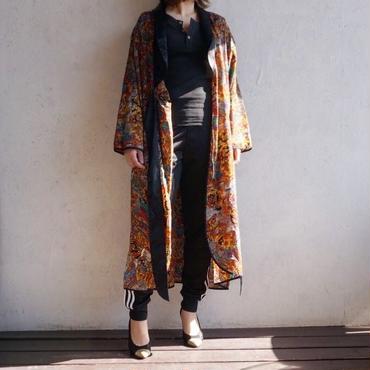 USED silk robe