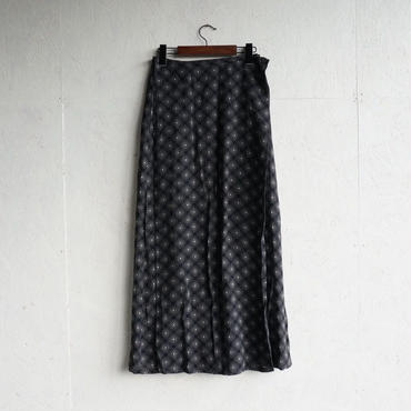 Used  geometric long skirt