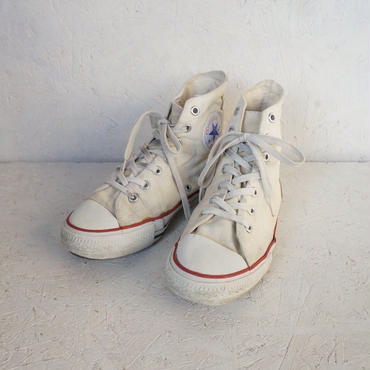 Vintage 80's  converse All star hi 5 1/2