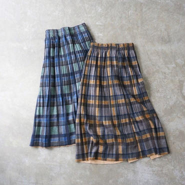 APPRECIATIVE Check midi skirt