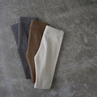 PHEENY 12G 2×2 rib knit leggins pants