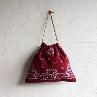 APPRECIATIVE Vintage  fabric purse bag bandanna A