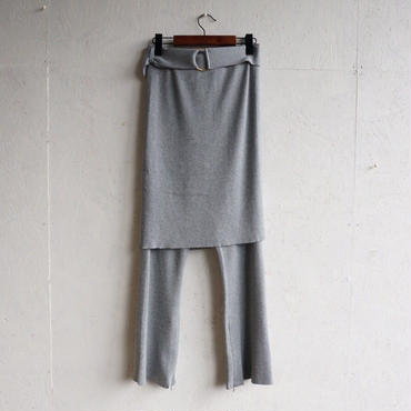 STAIR ORIGAMI Knit pants
