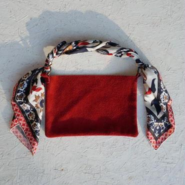【Pre order】APPRECIATIVE Suede bag RED