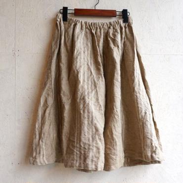 Used  linen skirt