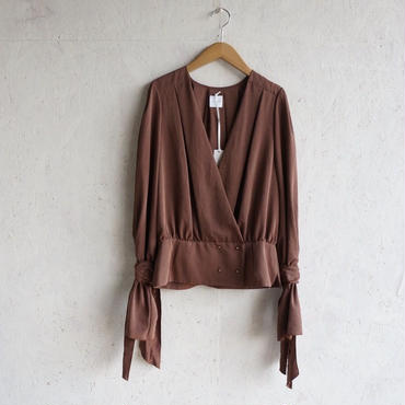 STAIR Suede touch blouse