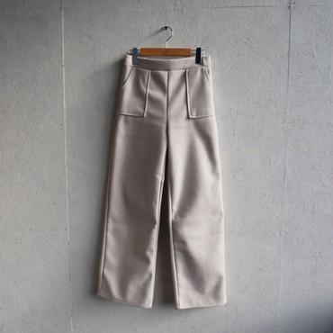 APPRECIATIVE wool touch wide pants