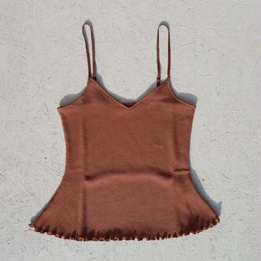 PHEENY 20/- honeycomb frill camisole