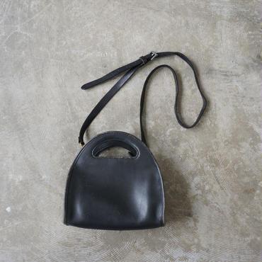 Old coach half moon bag
