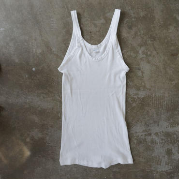 Deadstock military rib tanktop
