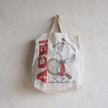 Vintage snoopy tote bag