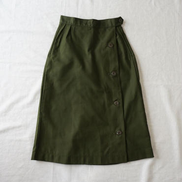 Deadstock M59 wrap skirt