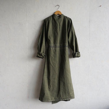 Deadstock surgical gown khaki