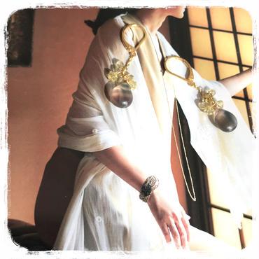 【予約済】ナナイロ ピアスorイヤリング