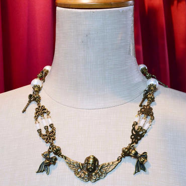 Phantom Jewelry/ファントムジュエリー 天使と燭台のネックレス