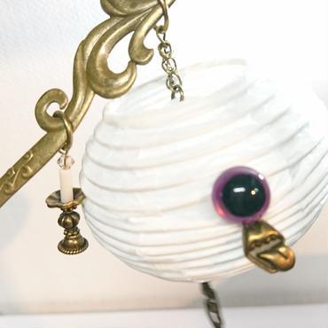 Phantom Jewelry/ファントムジュエリー お化け提灯の簪(目玉:紫)