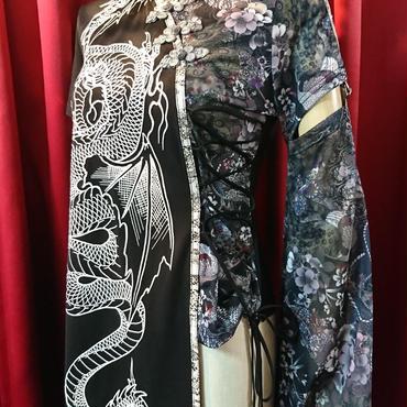 QUTIE FRASH/キューティーフラッシュ NEW着物袖カットソー 7359-T