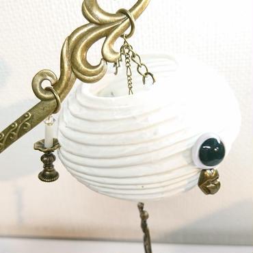 Phantom Jewelry/ファントムジュエリー お化け提灯の簪(目玉:白)