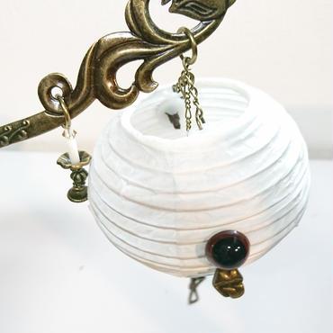 Phantom Jewelry/ファントムジュエリー お化け提灯の簪(目玉:茶)
