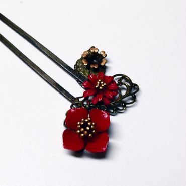 ちゃいず              かんざし「小花」② 1703-08
