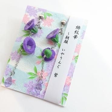 緋紋華/ひもんか ~朝顔ぴあす~ 紫