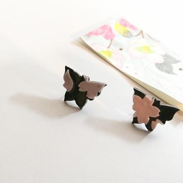 緋紋華/ひもんか  てふてふ夜桜ピアス