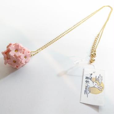 緋紋華/ひもんか 桜重ねペンダント