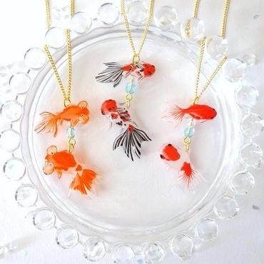 ねぎねぎ/NEGINEGI 金魚*ネックレス