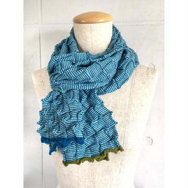 NICOLA EDELER マフラー - Knitted Scarf NE002 / 003