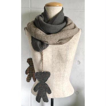 NICOLA EDELER マフラー - Knitted Scarf NE001 Bears