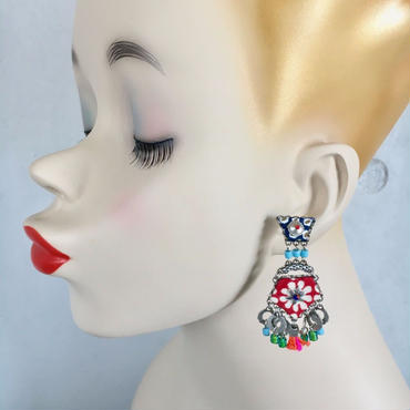 "Earrings ""AYALA BAR"" Hip 241 - ピアス アヤラ・バー"