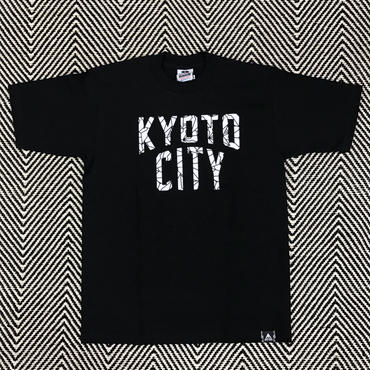 BAKIBAKI x KYOTO CITY  TEE α (Black /  White)