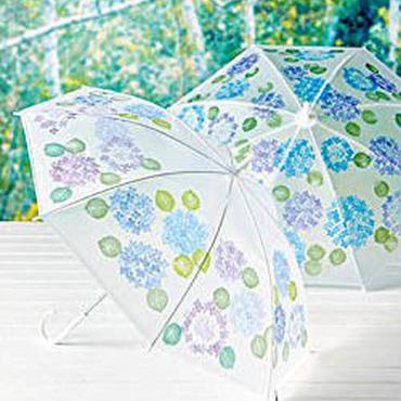 <チケット>津久井智子の消しゴムはんこ。ワークショップ@Cafe Wander Kitchen <6月の鎌倉で、あじさいはんこで傘作り>