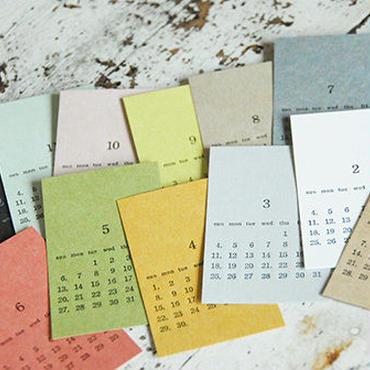 はんこ素材:「カレンダー」