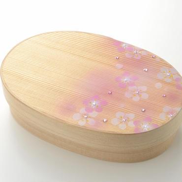 Bento Box だえん弁当箱 豆 アート入 Amd01-S